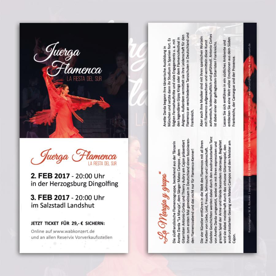 Flyer Veranstaltung