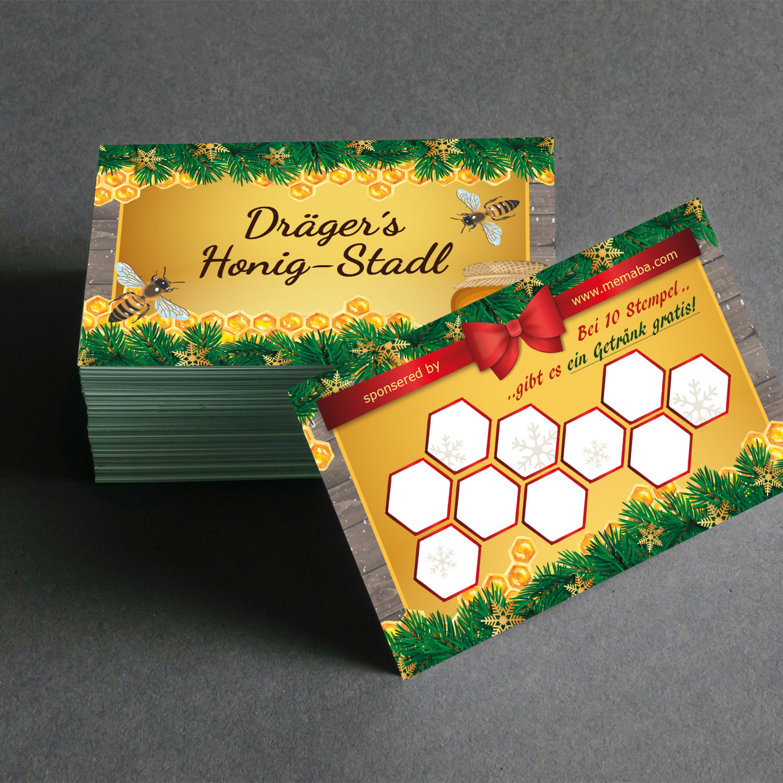 Bonuskarten design