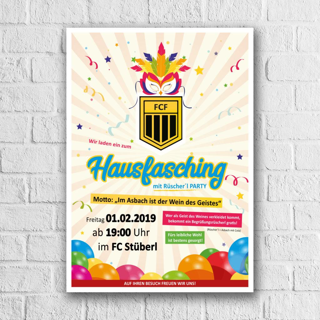 Memaba-Design-Print-Druck-Plakat-Hausfasching