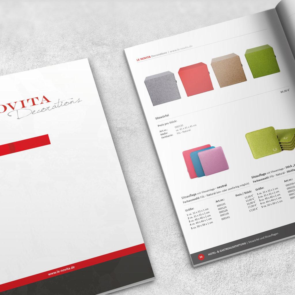 Druck Katalog Design