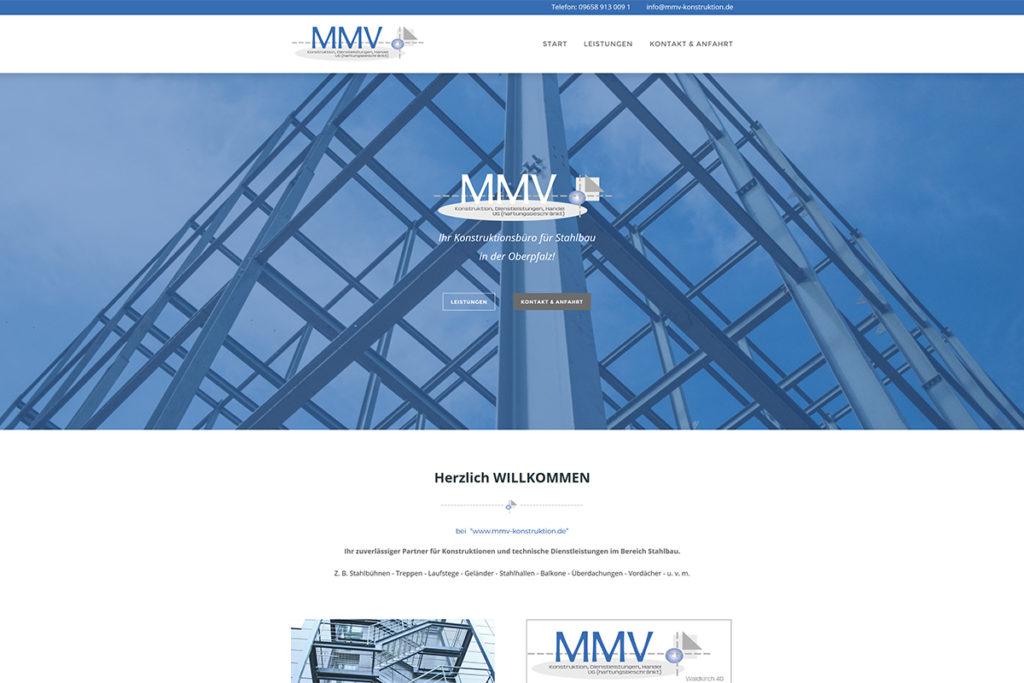Referenz Webdesign MMV