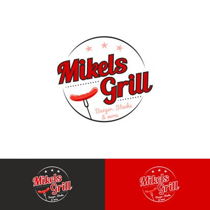 Memaba Design Logo Mikels Grill