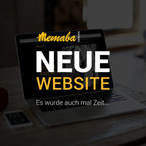 Unser neue Webseite ist online