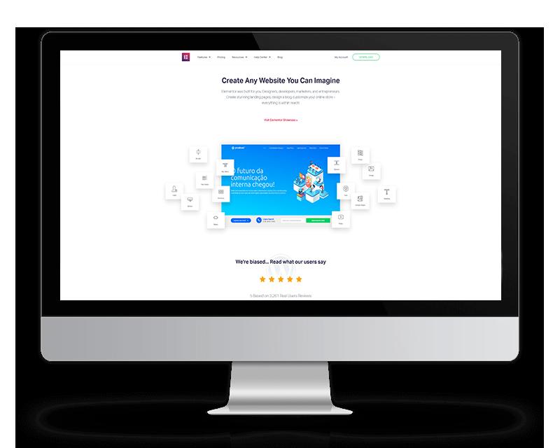 Memaba Design Webdesign WordPress Elementor Page Builder Vorschau