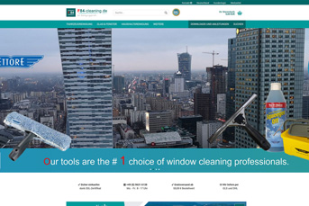 E-Commerce Onlineshop f84-cleaning
